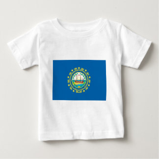 New Hampshire  Official State Flag Baby T-Shirt