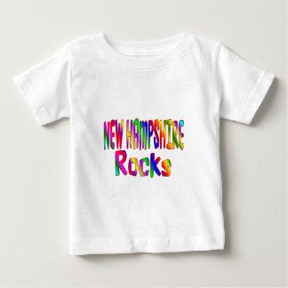 New Hampshire Rocks Baby T-Shirt