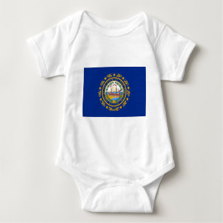 New Hampshire State Flag Baby Bodysuit