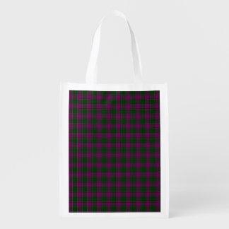 New Hampshire State Tartan Reusable Grocery Bag