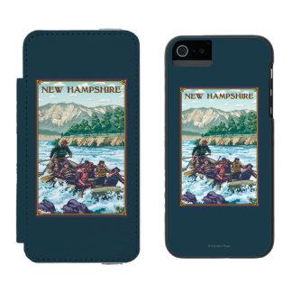 New HampshireRiver Rafting Scene Incipio Watson™ iPhone 5 Wallet Case