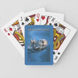 New HampshireSea Otter Scene Playing Cards
