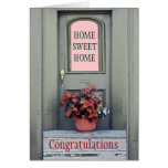 New Home Congratulations Greeting Card