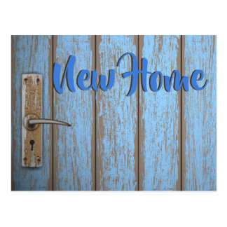 New Home Moving Postcard