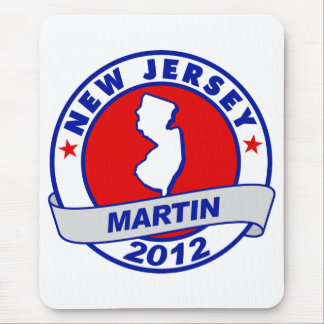 New Jersey Andy Martin Mouse Pad