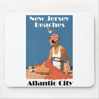 New Jersey Beaches ~ Atlantic City Mouse Pad