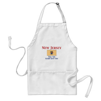 New Jersey Motto Aprons