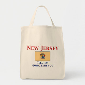 New Jersey Motto Canvas Bags