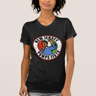 New Jersey Pumps Fists T Shirt
