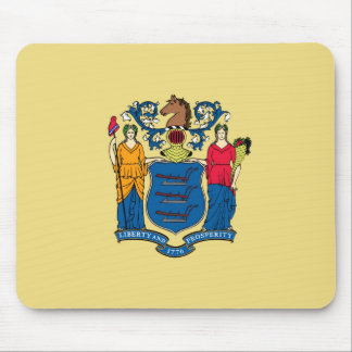 new jersey state flag united america republic symb mouse pad