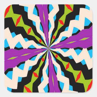 New Kaleidoscope Square Sticker