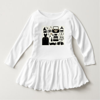 New kids wedding collection : black white dress