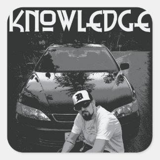 **New** Knowledge Car Sticker