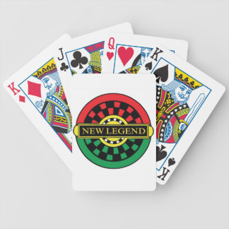 NEW LEGEND LOGO BICYCLE PLAYING CARDS