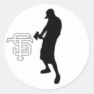new logo piece1-2, DEFAULT! Classic Round Sticker