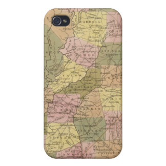 New Map Of Mississippi Cases For iPhone 4