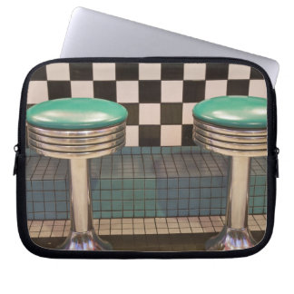 New Mexico, Albuquerque. The 66 Diner along Laptop Sleeve