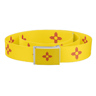 New Mexico flag, American state flag Belt