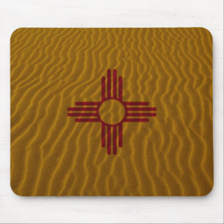 New Mexico Flag Dessert Sand Mouse Pad