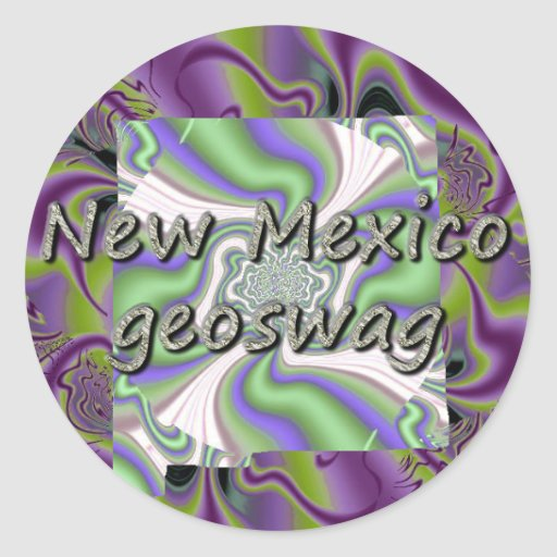 New Mexico Geocaching Supplies Stickers Geoswag