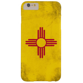 New Mexico Grunge- Zia Sun Symbol Barely There iPhone 6 Plus Case
