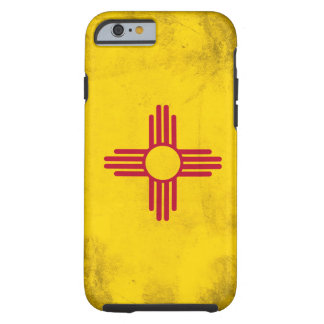New Mexico Grunge- Zia Sun Symbol Tough iPhone 6 Case