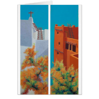 """""""New Mexico Morning"""" and """"Pueblo Fall"""" Card"""