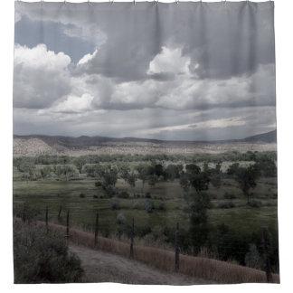 New Mexico Sky 1 Shower Curtain