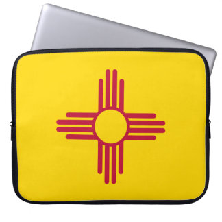 New Mexico State Flag Laptop Sleeve
