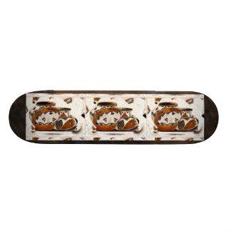 New Native American Pottery Skateboard