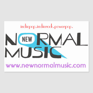 New Normal Music Stickers