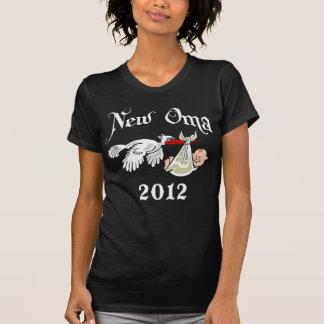 New Oma 2012 Black T-Shirt