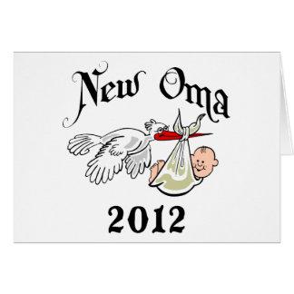 New Oma 2012 T-Shirts Card