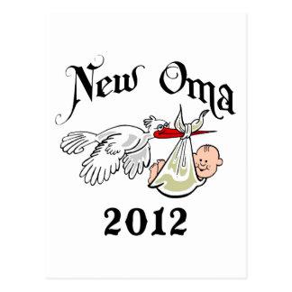 New Oma 2012 T-Shirts Postcard