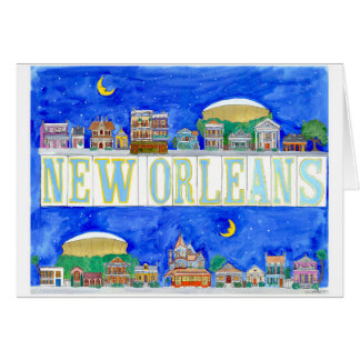 New Orleans Card