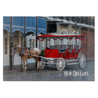 New Orleans Carriage Photo Cutting Board