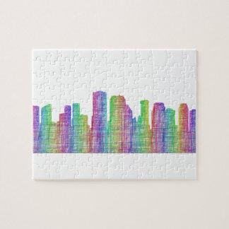 New Orleans city skyline Jigsaw Puzzle