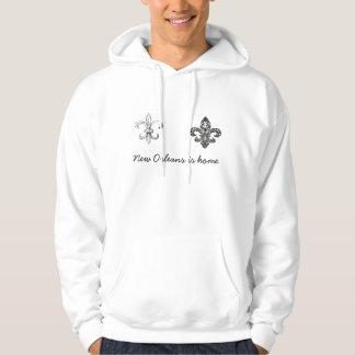 New Orleans, Fleur de lis hoodie