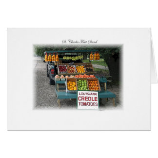 New Orleans Fruit Truck Card