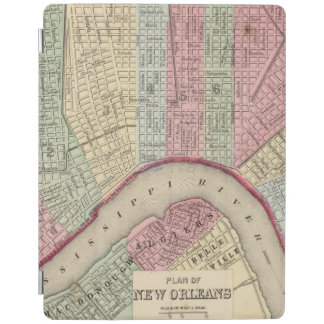 New Orleans Map by Mitchell iPad Cover