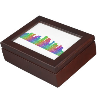 New Orleans skyline Keepsake Box