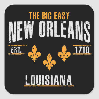 New Orleans Square Sticker