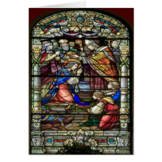 New Orleans Stain Glass  Card