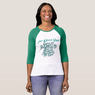 New Orleans Street Names T-Shirt