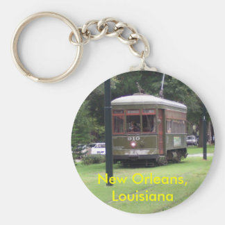 New Orleans Streetcar Key Ring