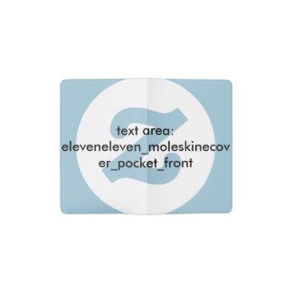 New Product: eleveneleven_moleskinecover title Pocket Moleskine Notebook