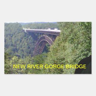 NEW RIVER GORGE BRIDGE WEST VIRGINIA STICKER