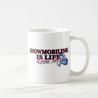NEW-SNOWMOBILING-IS-LIFE COFFEE MUG