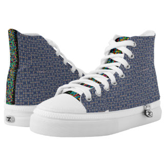 New Traditional Canvas Shoes. Printed Shoes