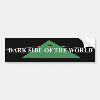 New World Order Illuminati Bumper Sticker